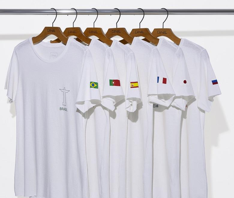 4b2821e55c04a Canal Concept lança camisetas para torcer no mundial de futebol
