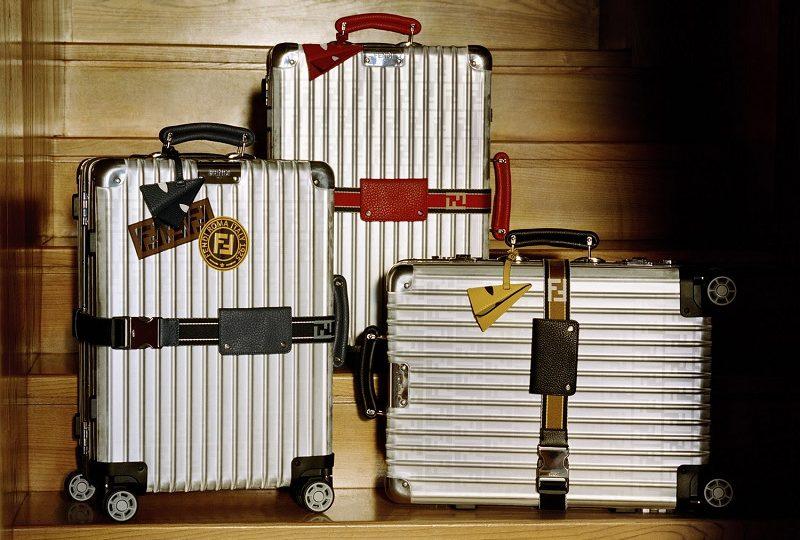e82326cfc Fendi e Rimowa: Apresentamos novas e empolgantes cores nessas malas  exclusivas