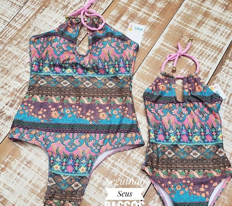 7a77e668d Tendência dos looks idênticos para pais e filhos chega na moda praia