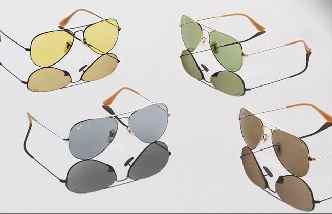 b980c897c Ray-Ban lança novas lentes que escurecem com a luz do sol