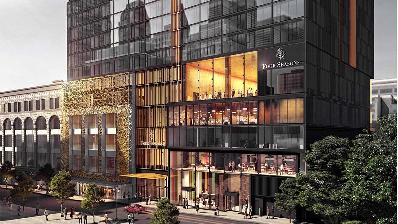 e1a7bd68f Four Seasons Hotel Montreal é inaugurado na Golden Square Mile